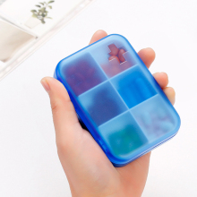 Portable 6 Days Weekly Pill Organizer Tablet Pocket Pill Storage Box Plastic Medicine Box Splitters Health Care Tools Holder Kit 2016 new electronictimer digital 7 days pill reminder organizer pill box case timing splitters case health care medicine timer