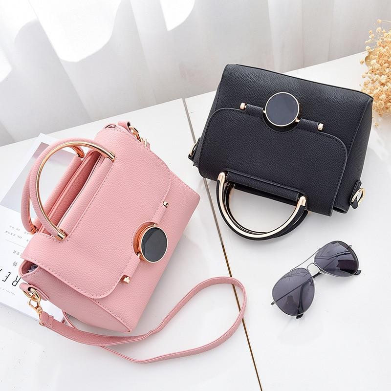 Fashion Women Shoulder bags PU leather Bag luxury handbags women bags designer High Quality Ladies Messenger Bags bolsa feminina in Shoulder Bags from Luggage Bags