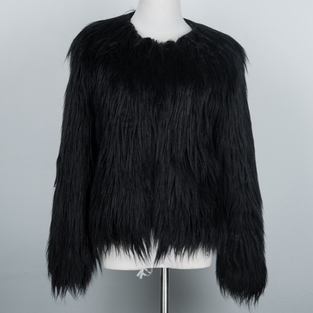 Chic Soft Faux Fur Coat 15