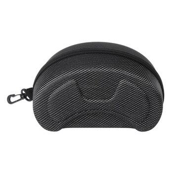 Protection EVA Ski Goggle Case Sunglasses Carrying Zipper Buckle Hard Box Holder