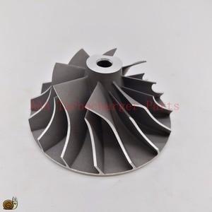 Image 2 - T04B/T04E Turbo części koło sprężarki 45.8x70mm, ostrza 8/8 dostawca AAA części turbosprężarki