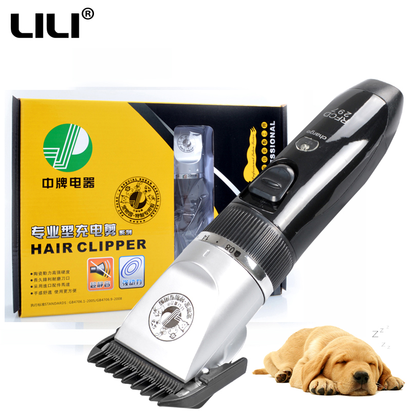 Grooming Kits Rechargeable Pet Hair Trimmer Cats Dogs Electric Clipper Shaver Haircut Machine Professional clipper for animals professional electric hair clipper razor child baby men electric shaver hair trimmer cutting machine haircut barber tool hot3637