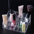 24 Celosías Exhibición Cosmética Soporte de Caja Del Lápiz Labial Sujetador Transparente Cosméticos Organizador Diversos Maquillaje Lipstick Caso 670148