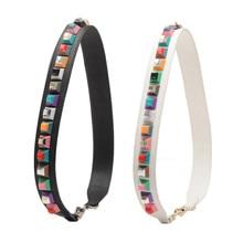 hot deal buy  strapper you leather rivets bag strap belt shoulder bag accessories belts long handbag band leather accessories strap