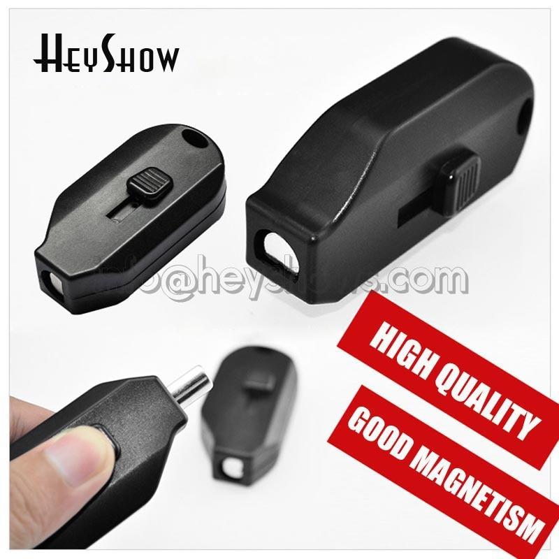 EAS Sicherheitshaken Detacheur Samsung Stoplock Schlüssel Hängen Tag Magnet Lockpick Display Haken Opener Sicherheit Tag Magnetlöser