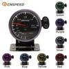 CNSPEED 60mm 7 Colors LED 12V BAR Turbo Boost Gauge Meter Sensor POD Universal For Honda Car Boost Turbo Meter Auto Gauge