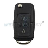 Car remote key for VW Volkswagen Golf Passat Polo Skoda Seat 2000 2001 2002 2003 1J0959753N 2 button 434 mhz ID48 chip remtekey
