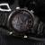 Naviforce 9024 relojes de los hombres reloj de cuarzo analógico digital led reloj de pulsera correa de acero inoxidable calendario de negocios de lujo relogio