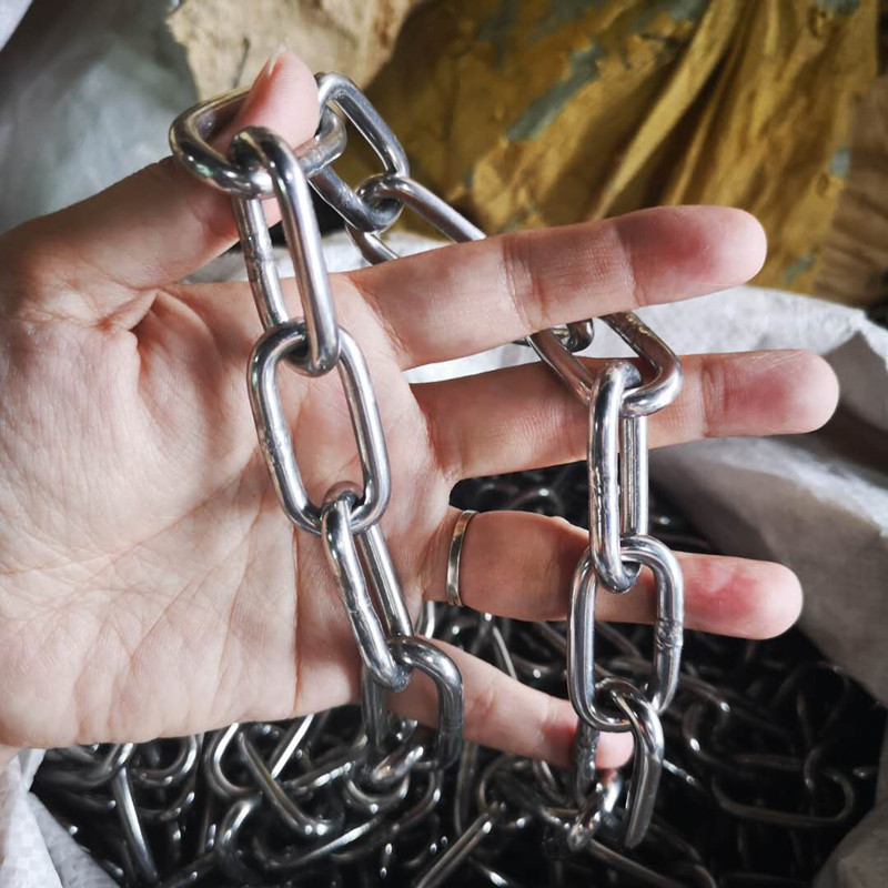 304  Diameter 5mm  Stainless Steel Link Chain