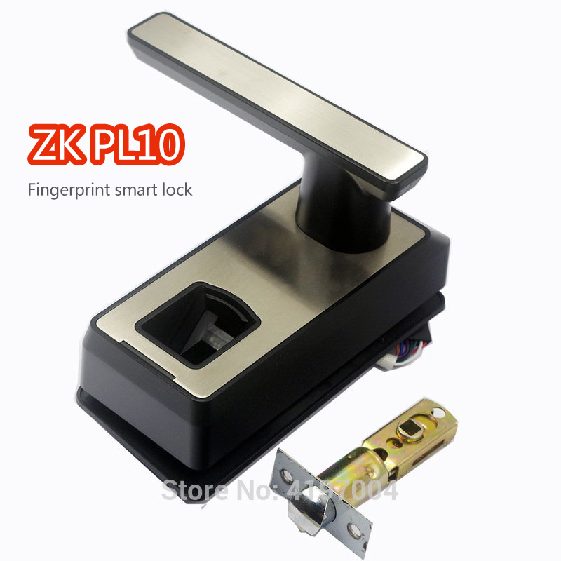 ZKeco PL10 Fingerprint smart lock Rugged Housing with ABS Material Keyless Keypad Right Left door lock