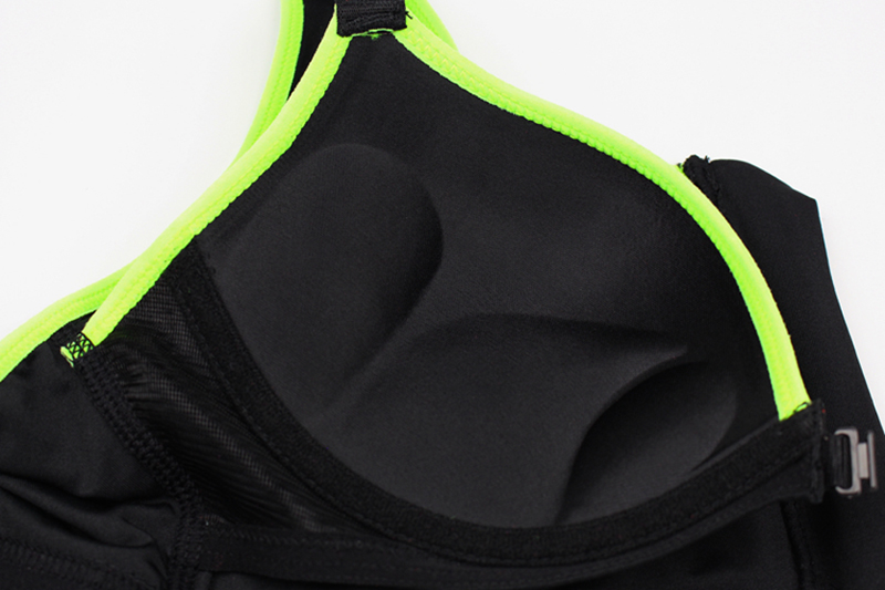 Women Zipper Front Yoga Shirts for Running Gym Fitness Comfortable Sport Bra Crop Tops Double Layers Bra for Woman (14)