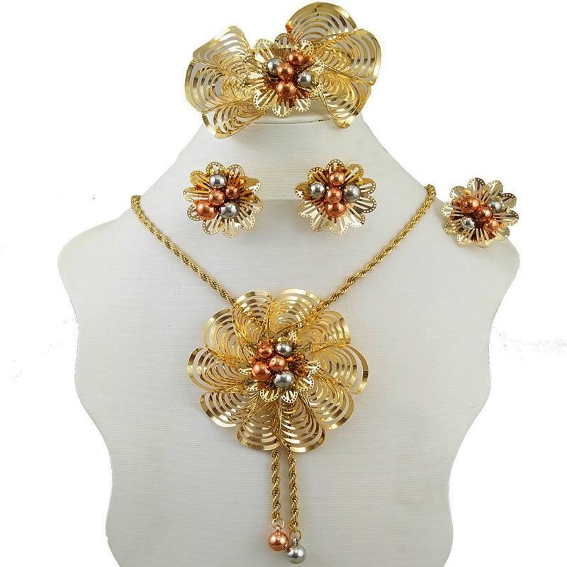 Aliexpress.com : Buy dubai gold jewelry sets women party ...