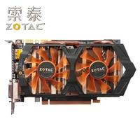 Original ZOTAC Video Card GeForce GTX660 2GD5 Thunder Edition PD GPU 192Bit GDDR5 Graphics Cards Map GTX660 2GD5 2GB GK106 Hdmi