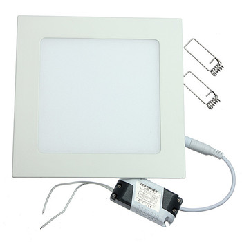 25W Square LED Panel Light Recessed Kitchen Bathroom Ceiling Lamp AC85-265V LED Downlight Warm White/Cool White Free shipping led panel 300x600mm 24w thin led panel light super bright 3014 ac85 265v for home kitchen 5pcs lot dhl free shipping