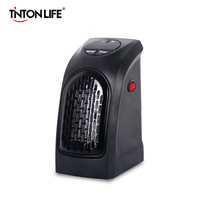 TINTON LIFE Mini Wall Outlet Electric Handy Air Heater Warm Blower Room Fan Stove Heater
