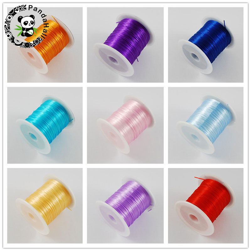 10M/roll 1mm Stretch Elastic Beading Cord String Jewelry ...