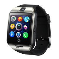 SmartWatch New Q18 Passometer Smart uhr mit Touchscreen Kamera TF karte Bluetooth Smartwatch für Android IOS Telefon Männer Uhr