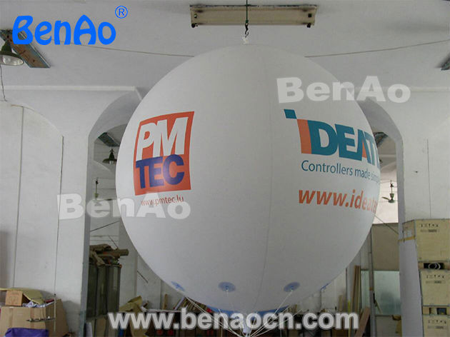 AO091 Free shipping 0.18mm Thickness PVC Helium balloon Advertising PVC balloon/sky balloon