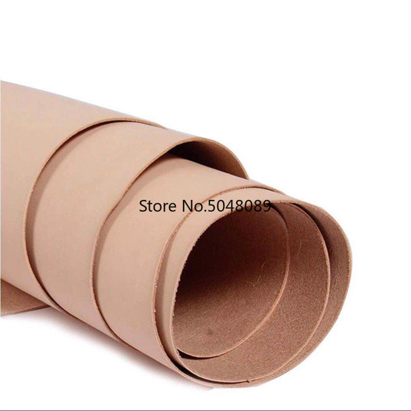 Vegetable Tanned Cowhide Material Leather Piece COW Skin Real Leather For DIY Art LeatherCraft Sewing Genuine Leather Fabric
