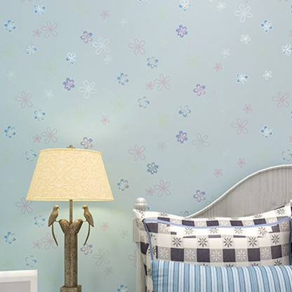 Cute Small Floral Wallpaper Baby Girls Boys Room Decor zk03 floral ...