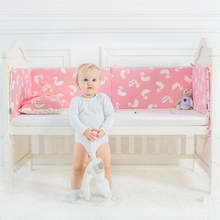 hot deal buy fashion hot baby bumper cotton crib bumpers infant bedding bumper without sheet safe protection for baby use newborn bedding set