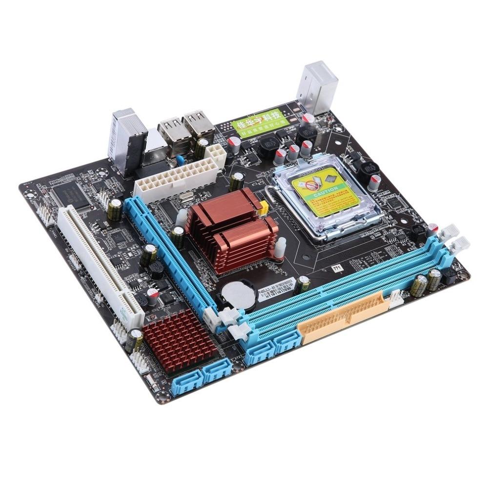 P45 Fast Ethernet Do Computador Motherboard Mainboard 771/775 Dupla Placa DDR3 8GB Apoio L5420 Alta Compatibilidade Com o Transporte Da Gota