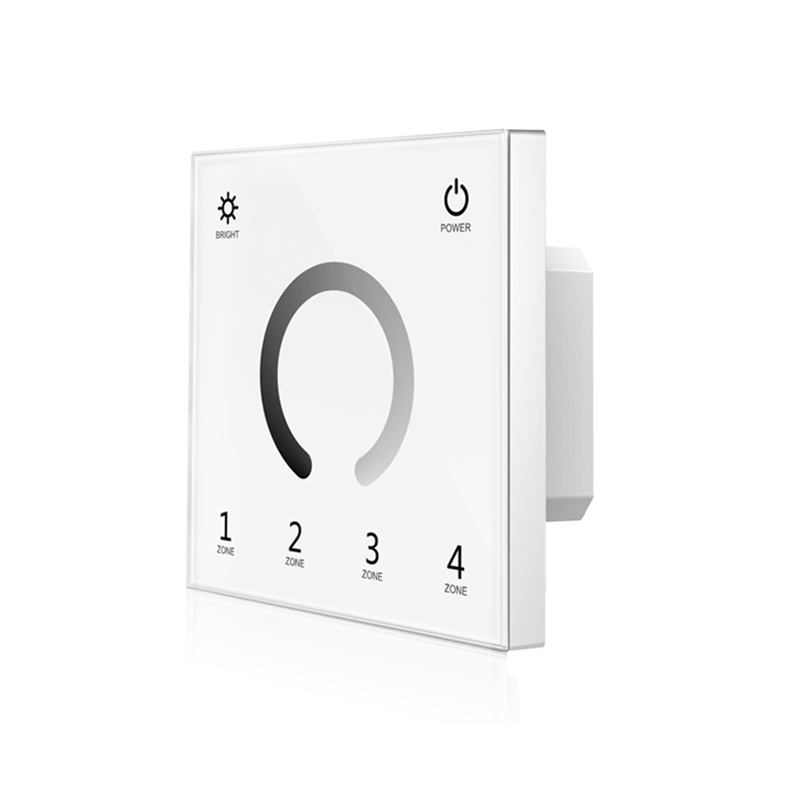 44d23d325261 New T11 Led Strip Dimmer 220V High Voltage Wall Mount Touch panel 2.4G RF  wireless