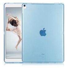 GOLP Contraportada Caso De iPad Pro 10.5 pulgadas Precio Barato suave Piel del Gel Del Silicón de TPU funda Protectora de la Tableta Cubiertas Casos Para Apple 10.5