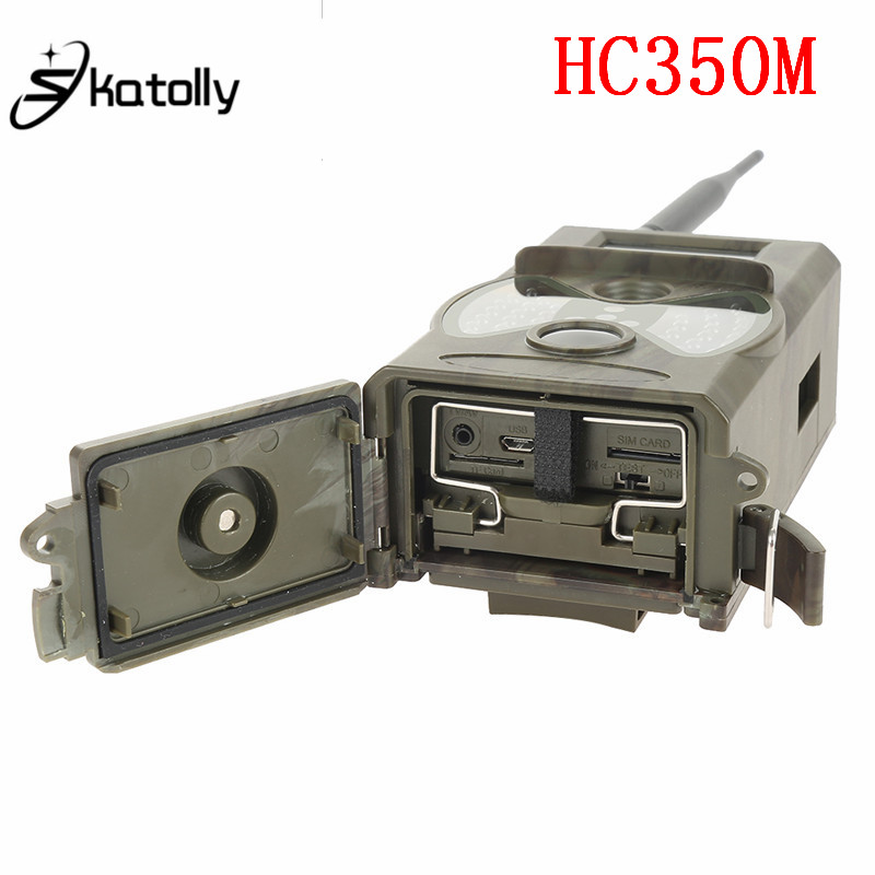 Skatolly HC350M Hunting Camera MMS GPRS 0.5s Trigger 16MP Night Vision Wildlife Game Trail Camera Photo Trap hc 550m gsm gprs sms mms security hunting trail camera hc550m 16mp with 940nm black invisible vision hc 550m