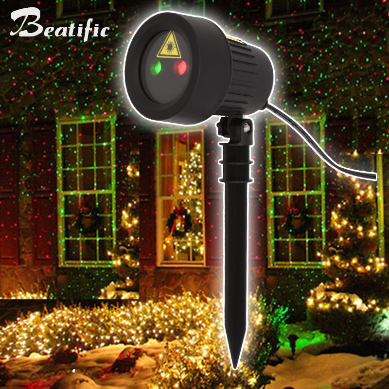 все цены на 2018 Star Christmas Lights Outdoor Laser Projector Showers Christmas Tree Light New Year Eve Holiday Decorations for Home