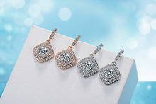 925 Sterling Silver Vintage Stud Earrings