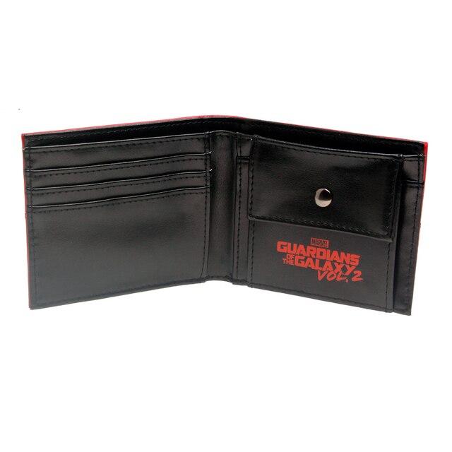 Бумажник Стражи Галактики красный 3