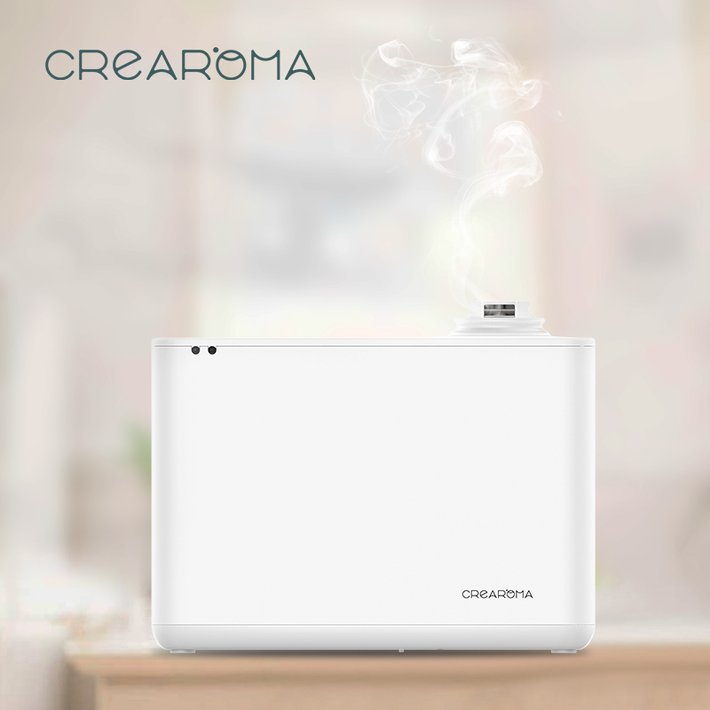 Crearoma 2019 New electric automatic air purifier scent essential oil diffuserCrearoma 2019 New electric automatic air purifier scent essential oil diffuser