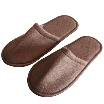 Disposable Slippers Men And Women Hotel Slippers Home Reception Shoes Women Travel Portable Men's Shoes $ 1