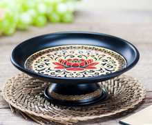 alloy fruit plate serving lotus dish for dishes fortune buddhist supply dried storage box snack sundries gift LFB492