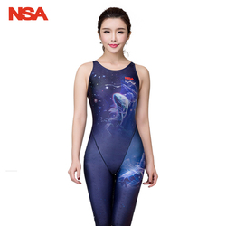 NSA гоночный Купальник для женщин, сдельный Купальник для девочек, купальный костюм для женщин, детский купальник для соревнований, женские к... 2