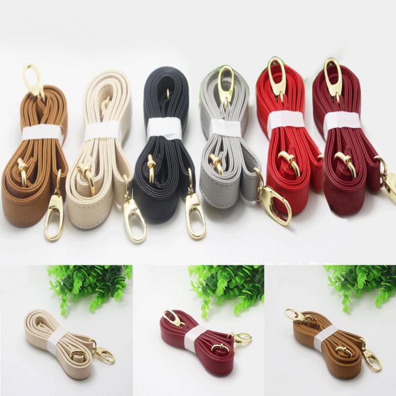 Women PU Leather Shoulder Bag Handle Adjustable DIY Purse Strap 6 Color Available Handbags Belts Strap Bag Accessories