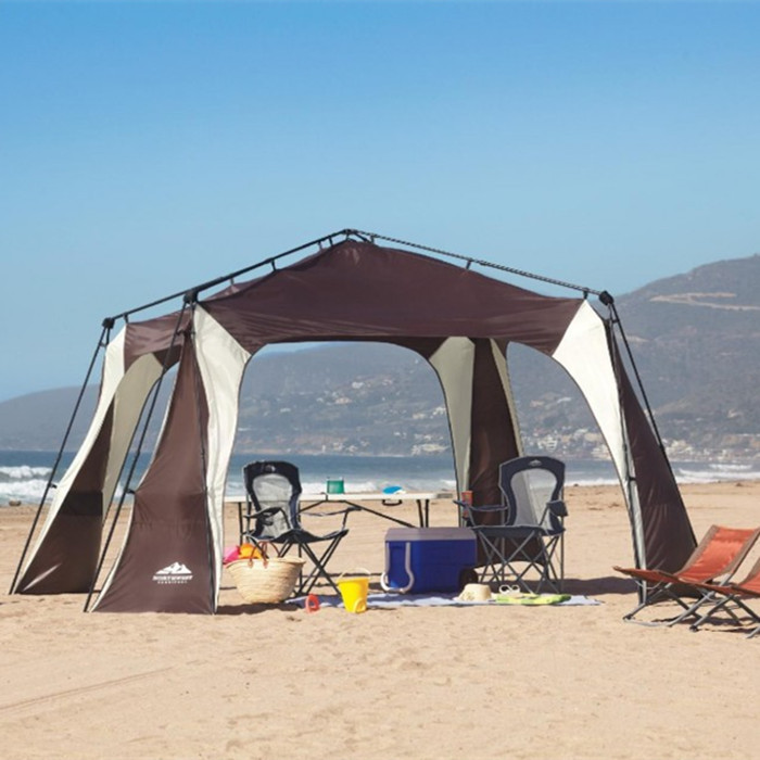 large c&ing tentsun beach tentawnings for beachoutdoor canopygazebo for sun shadefamily tentfree shipping-in Tents from Sports u0026 Entertainment on ... & large camping tentsun beach tentawnings for beachoutdoor canopy ...