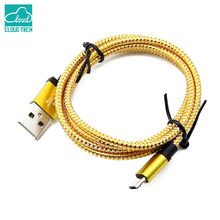 CloudTech Micro USB Cable 5V2A Fast Charging Adapter Ruler Mobile Phone Android Cable for Samsung S6 Xiaomi Sony HuaWei One Plus