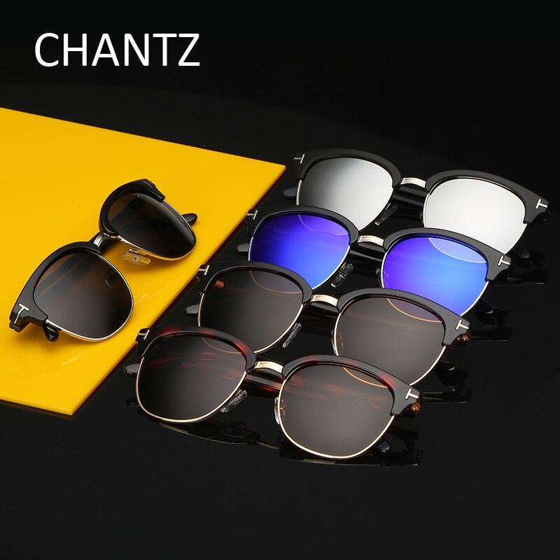 Lunette De Soleil Femme Classic Round Polarized Sunglasses Women Brand Designer Semi rimless Sport Sun Glasses Female Eyeglasses in Women 39 s Sunglasses from Apparel Accessories
