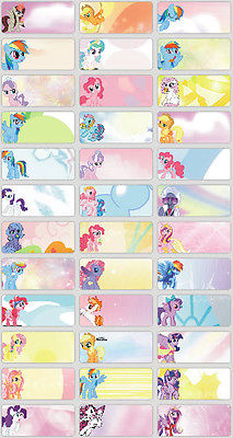 you decide 120pcs my little pony pics personalised name sticker