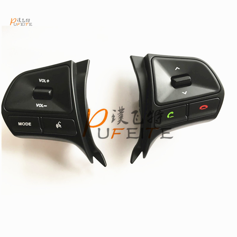 New product!!Factory price High quality Steering Wheel Audio Control Buttons for KIA K2 RIO Steering wheel button steering wheel audio control switch for toyota camry highlander hilux vigo grand new quality audio buttons