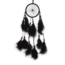 Ornament Dreamcatcher Hanging-Decoration Handmade Home-Bar Black E5M1 Lace-Design