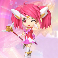 Hot LOL 14cm PVC Action Figure Kids Toy Online Game Collection Doll Heros Figurine Lux The