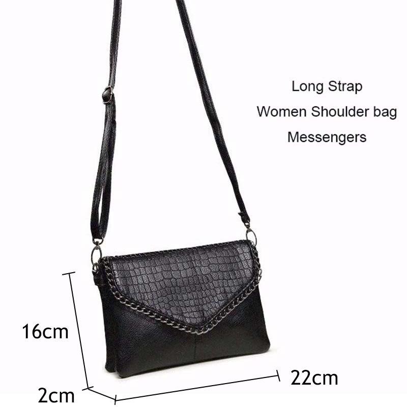 Retro Fashion Alligator Design Women's Clutches Office Lady Pouch Small Shoulder Bags Purse Pocket Messenger Flaps Bag BA180 6