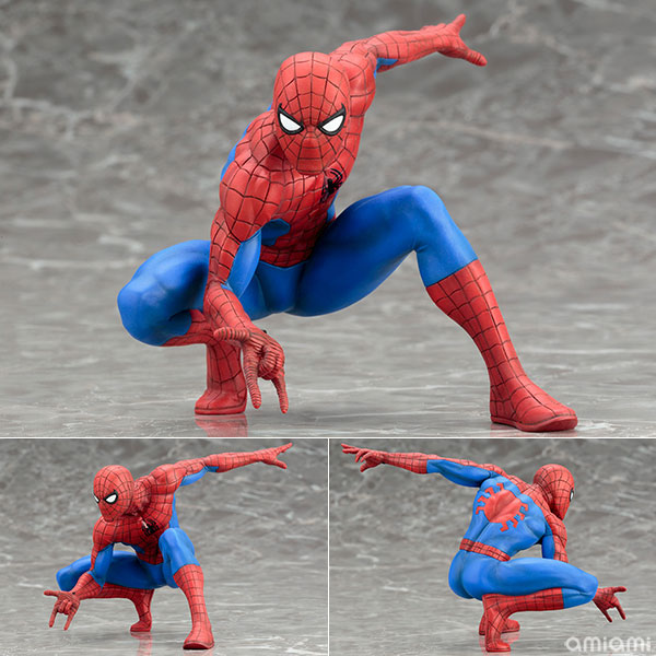 ARTFX + STATUE Spiderman The Amazing Spider-man 1/10 Scale Pre-Painted Figure Model KitARTFX + STATUE Spiderman The Amazing Spider-man 1/10 Scale Pre-Painted Figure Model Kit