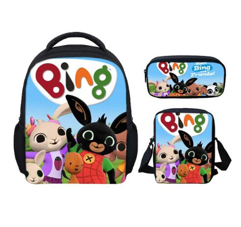 Kindergarten Child School Backpacks Cartoon Bing Bunny Printed Schoolbags For Kids Girls Boys Bookbag Casual Daypack