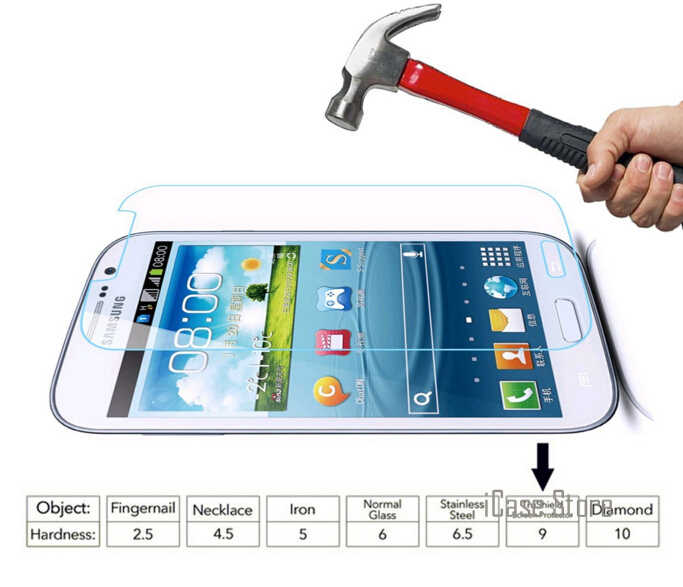 0.26mm 9H Tempered Glass Cover For Samsung Galaxy Grand Duos i9082 i9080 GT-i9082 Neo i9060 i9062 Plus i9060i Screen Case Film