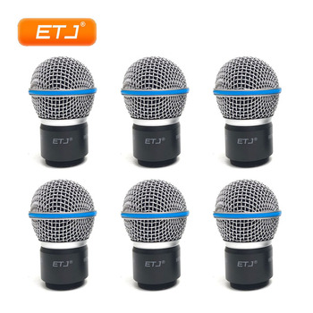 ETJ Brand 6pcs/Lot Beta58 Beta58A Cartridge Grille Wireless Microphone Accessories For SLX24 PGX24 SLX2 PGX2 Free shipping