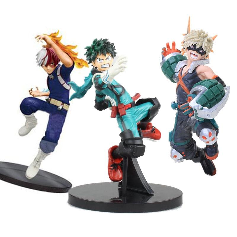 MY HERO AKADEMIE/ FIGUR IZUKU MIDORIYA 15 CM Action- & Spielfiguren BATTLE SEHEN IN SCHACHTEL
